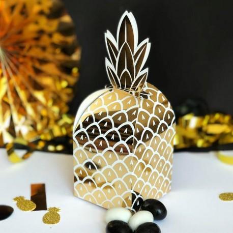 PUDEŁECZKA dla dziewczyn Złoty Ananas 8szt