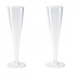 KIELISZKI plastikowe do szampana 10szt