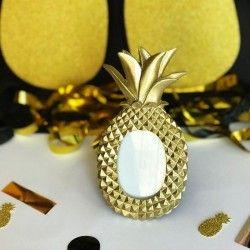RAMKA dekoracyjna na zdjęcia Złoty Ananas