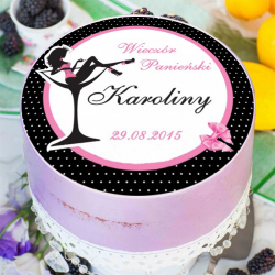 OPŁATEK na tort personalizowany Królowa Nocy Ø20cm
