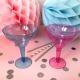 KIELISZKI kolorowe do margarity/drinków 6szt