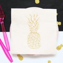 Serwetki papierowe Złoty Ananas 33x33cm 20szt.