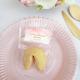 CIASTECZKO z wróżbą na panieński Różowa Akwarela (+etykieta)