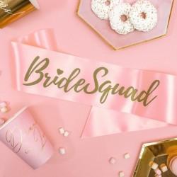 SZARFA na wieczór panieński BrideSquad