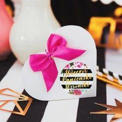 PUDEŁECZKA serca dla dziewczyn Wieczór Panieński 10szt (+etykiety + kokardki)