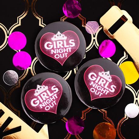PRZYPINKA na wieczór panieński Girls Night Out