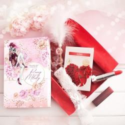 ZESTAW prezentowy dla Przyszłej Panny Młodej Red Lipstick
