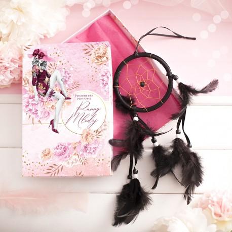 ZESTAW prezentowy dla Przyszłej Panny Młodej Koronkowa Maska