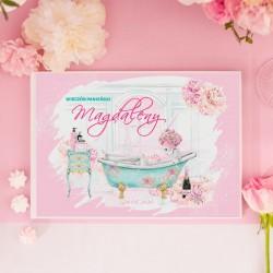 KSIĘGA PAMIĄTKOWA Wieczoru Panieńskiego PANNA MŁODA BIAŁE/CZARNE KARTKI
