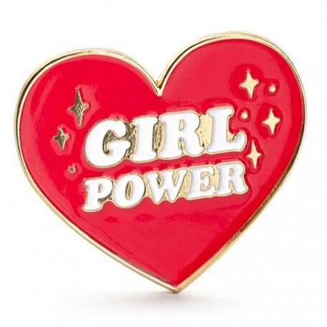 PRZYPINKA Serce Girl Power