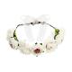 WIANEK na panieński Białe Kwiaty