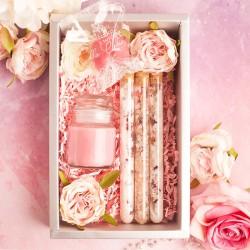 Zapachowy zestaw prezentowy dla niej. Idealny prezent na wieczór panieński.