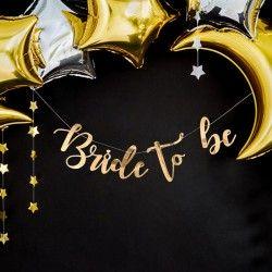 BANER Złoty Lustrzany Bride to be
