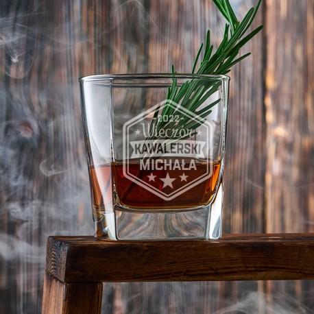 SZKLANKA do Whisky na Wieczór Kawalerski