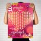 PLAKAT zdrapki dla Zakochanych 100 Wspólnych Chwil Prezent dla Młodej Pary