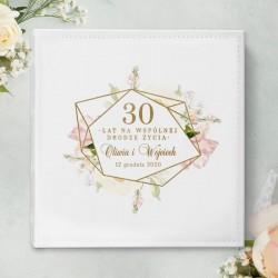 Personalizowany album na zdjęcia z pięknym wzorem. Idealny upominek rocznicowy dla Pary.