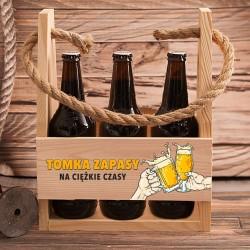 NOSIDŁO na 6 piw Zapasy na Ciężkie Czasy Prezent na kawalerski