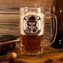 Kufel szklany do piwa to idealny gadżet na wieczór kawalerski dla ekipy Pana Młodego.