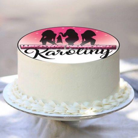 OPŁATEK na tort personalizowany Girls Gone Wilde Ø20cm