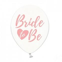 BALONY Bride to Be różowe 30cm 6szt