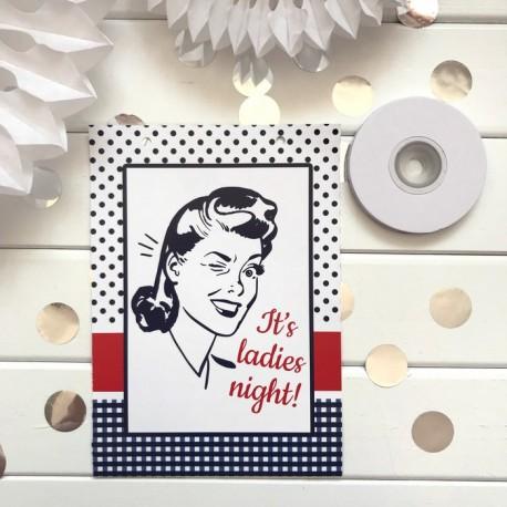 ŁĄCZNIK do baneru z tasiemką Ladies Night