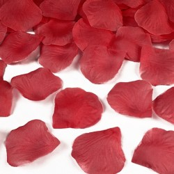 PŁATKI róż do dekoracji CZERWONE 100szt