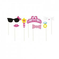 REKWIZYTY do fotek Sweet Pink 7 elementów!