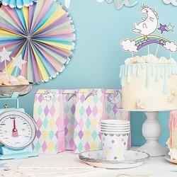 TOREBKI na słodycze dla dziewczyn Jednorożec 6szt