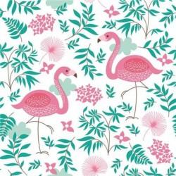 SERWETKI papierowe Flamingi Tropikalne 33x33cm 20szt