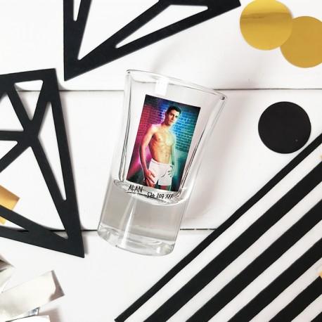 Kieliszki do wódki szklane Hot Shot ZESTAW dla Kobiet 6 szt.