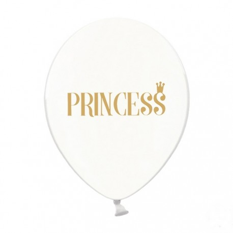 BALONY Princess 30cm 6szt