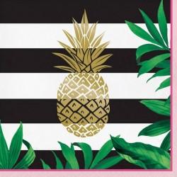 SERWETKI papierowe Kolekcja Ananas 33x33cm 16szt