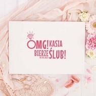 OMG! - biorę ślub